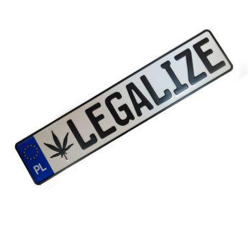 Tablice rejstracyjne legalize