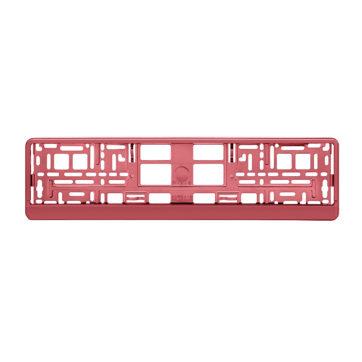 ramka metalizowana czerwona do tablicy rejestracyjnej