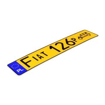 żółte-tablice-rejestracyjne-fiat-126p