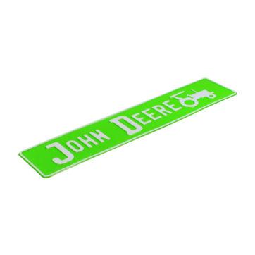 tablica rejestracyjna indywidualna john deere